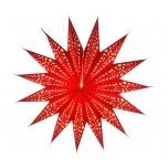 Papierstern Aristea red